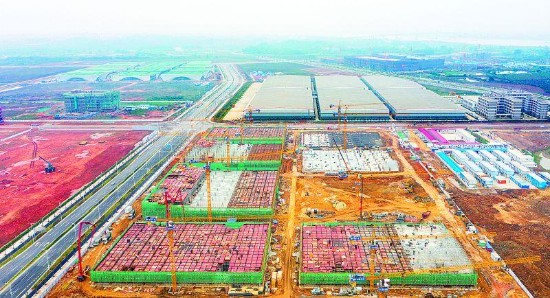 肇庆新区产业建设面貌一月一变样 陆续将有项目进入试投产阶段
