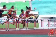 13岁怀集小妹巫艳榕获丙组百米冠军,拿下个人第4金