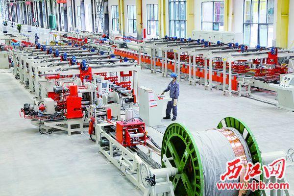 金田集团广东一期项目投产。