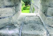 文明旅游:肇庆古城墙 被乱涂乱画