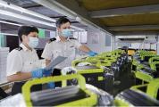 威尼斯人网站产锂电池首次出口 贴心服务再获企业点赞