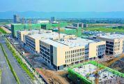 威尼斯人网站新区电子信息 产业园厂房主体完工