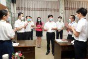 吕玉印许晓雄走访慰问一线教师并勉励全市广大教师及教育工作者