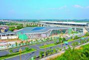 肇庆新区客运站现雏形 工程10月全部完工