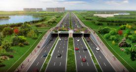 下沉隧道,互通立交!注册送68体验金这条大道计划明年10月通车!