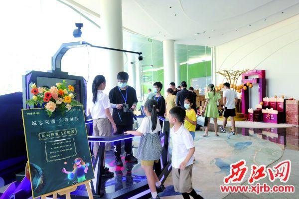 国庆假期,楼盘精彩纷呈的营销活动吸引了人们参与。