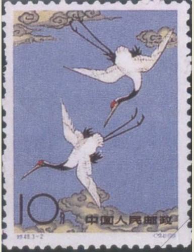 传说天上的神仙被丹顶鹤的秀丽