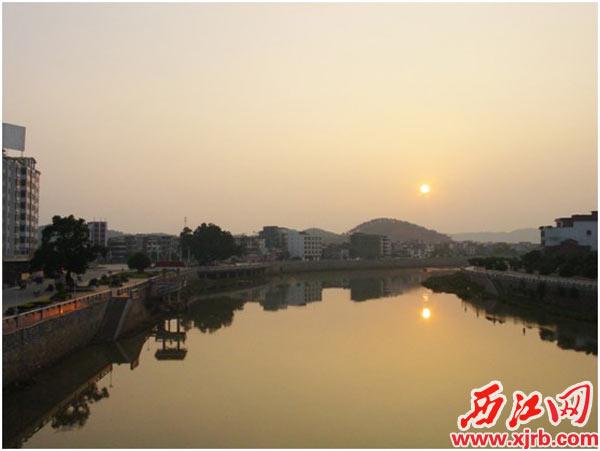 石龙镇风景图片绥江